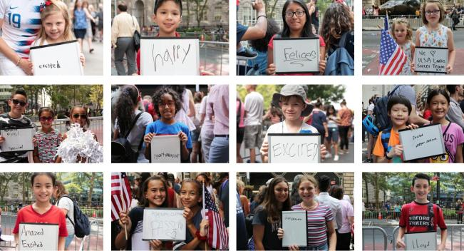 Photos: Young Fans Rejoice at US Women's World Cup Parade