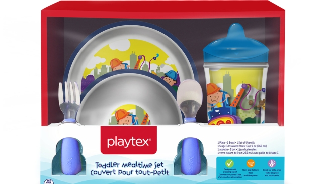 Playtex Recalls Children's Bowls, Plates due to Choking Hazard