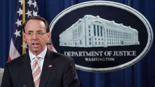 Rod Rosenstein, Who Oversaw Mueller Probe, Leaving DOJ After Investigation Wraps Up
