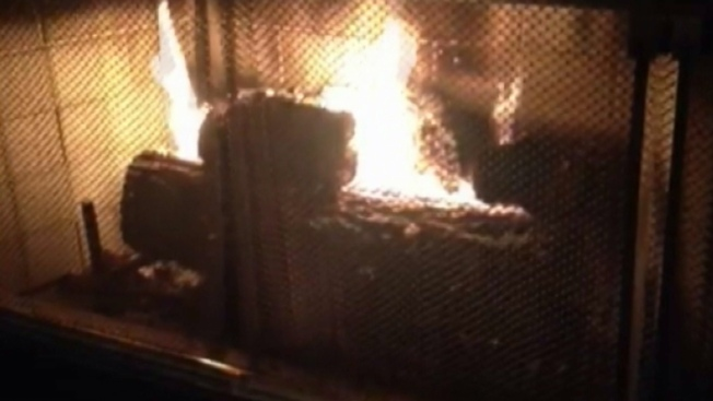 Blackhawks Show Christmas Cheer in Yule Log Video