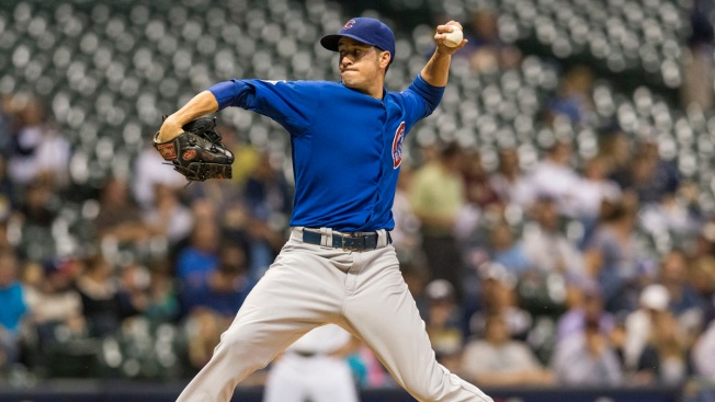 Rusin's Wildness Cost Cubs in Loss to Brewers