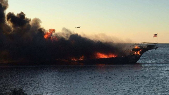 Dozens safely evacuated from fiery casino shuttle boat in Florida