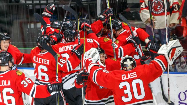 Victor Ejdsell Helps IceHogs Stave Off Elimination