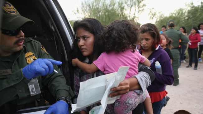 Most Border Children End up in Texas, New York