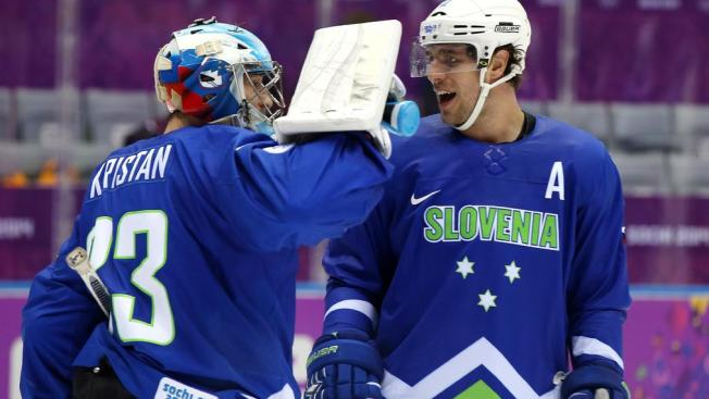 Three Stars: Kopitar Leads Slovenia to First Ever Olympic Win