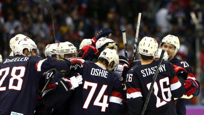 USA Beats Russia 3-2 in Shootout