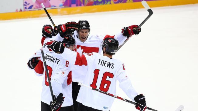 Canada Survives Huge Scare, Knocks Off Latvia 2-1