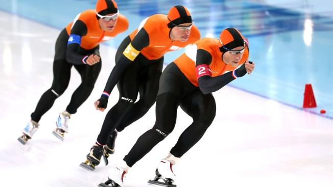 Dutch Clinch 22nd Speedskating Medal in Sochi