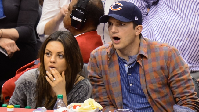 Mila Kunis Says Ashton Kutcher Wants Daughter to Coach Bears
