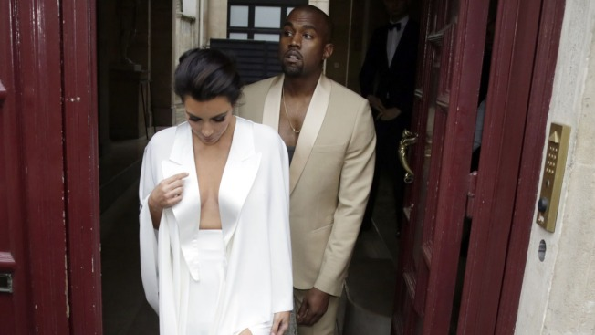Versailles, Valentino: Big Day for Kim and Kanye