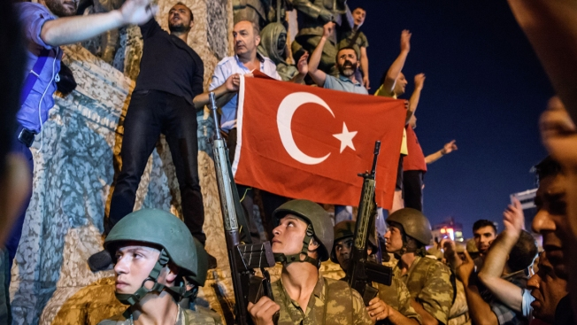 President Erdogan celebrates failed coup in Turkey on first anniversary