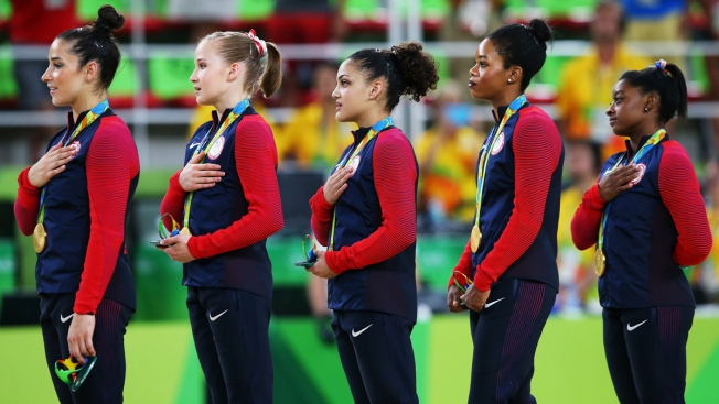 'I Always Stand at Attention': Gabby Douglas Responds to US Anthem Controversy