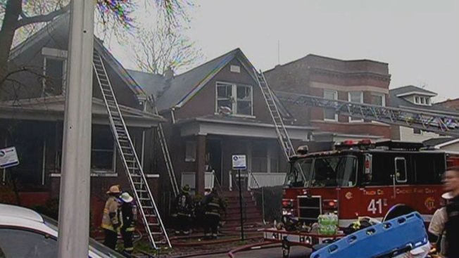 Firefighter Injured Dealing With West Englewood Fire