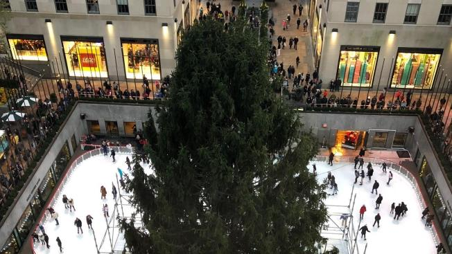 72-Foot Tree Arrives at Rockefeller Center - Tis The Season! 2018 Rockefeller Center Christmas Tree Arrives - NBC