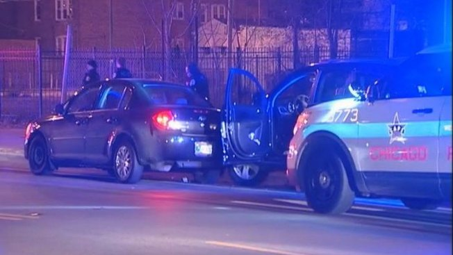 Officer, Two Others Injured in Crash During Traffic Stop