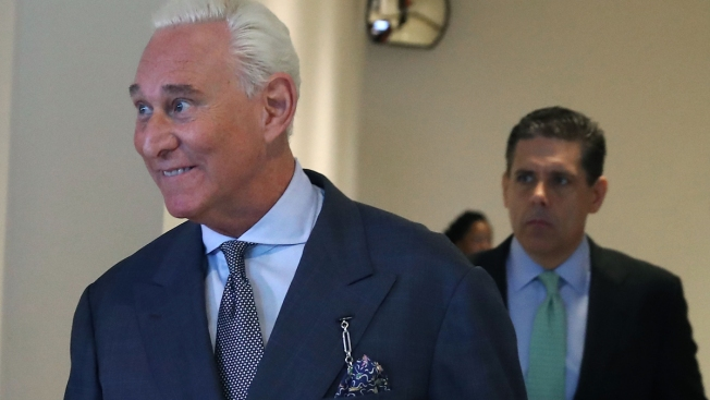Roger Stone Denies Russian Collusion in Combative Statement
