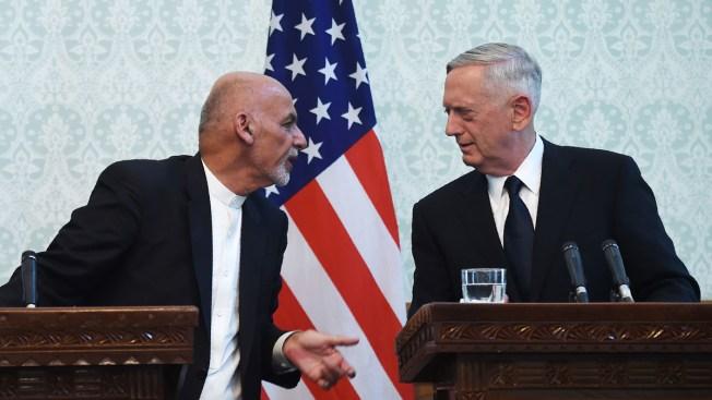 Taliban Launches Salvo of Rockets in Failed Attempt to Kill Mattis, NATO Chief