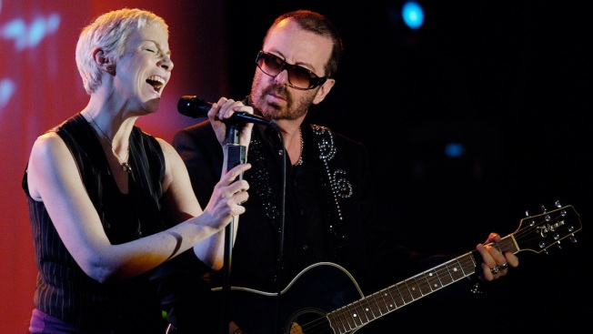 Sweet Dreams: Eurythmics Uniting at Beatles Tribute