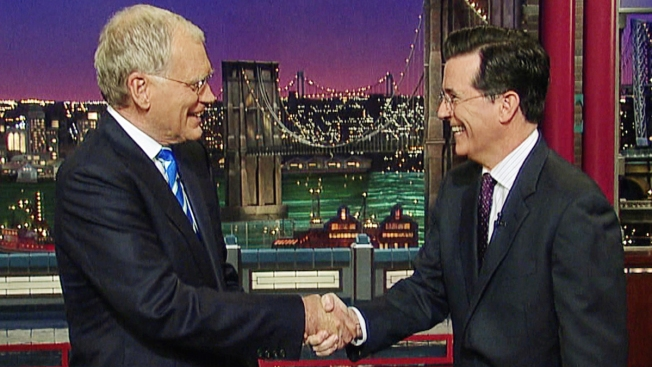 "Colbert ""Thrilled and Grateful"" to Take Over ""Late Show"""