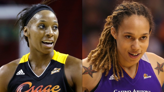 WNBA Players Brittney Griner, Glory Johnson Engaged