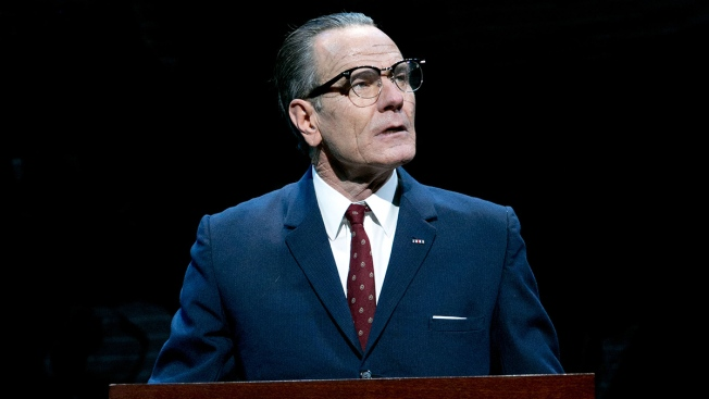 "Bryan Cranston Returning to TV to Star in ""All the Way"" on HBO"
