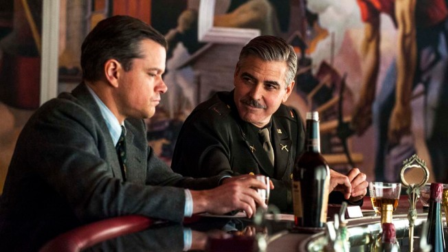 "George Clooney's ""Monuments Men"" Pushed to 2014"