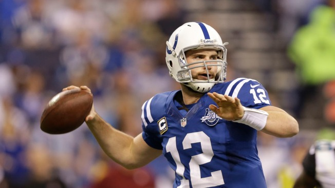 Luck Rallies Indy to 45-44 Playoff Win Over Chiefs