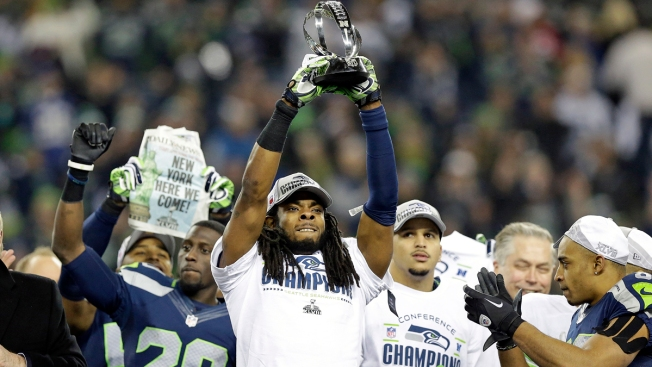 "Seahawks Star Richard Sherman: Rant Was ""Adrenaline Talking"""