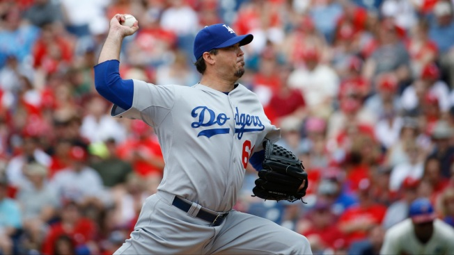 Josh Beckett Pitches 1st No-Hitter of His Career