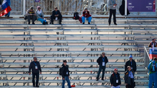 Fans Shun Sochi Over Bombs, Big Bucks, Bureaucracy