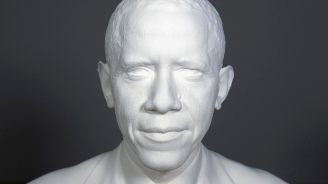 Obama Is 1st Sitting President to Be 3D-Printed