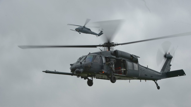 US Air Force Helicopter Crew Members Hurt in Nevada Crash
