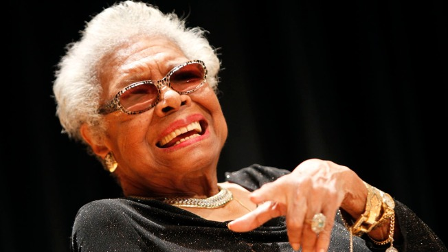Maya Angelou's Poetry, Quotes Posted to Social Media