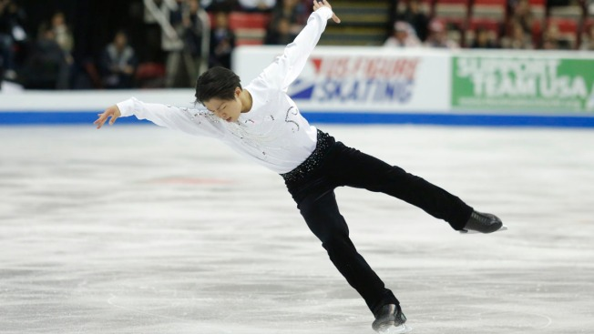 Japan's Tatsuki Machida Wins Skate America