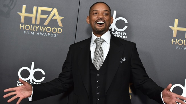 Will Smith Quells 'Concussion' Controversy at Film Awards