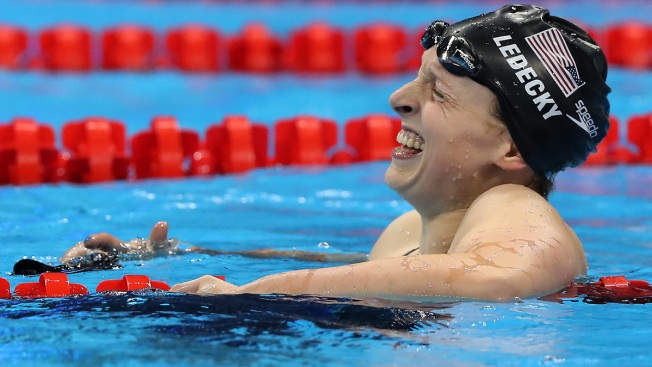 Rio Day 7: US Soccer Stunner, Ledecky Wins Again and Other Top Moments