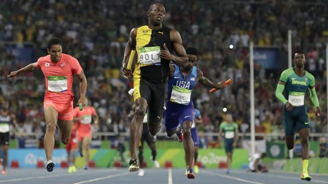 Usain Bolt Wins 3rd Rio Gold Medal, Giving Him 9 for Career