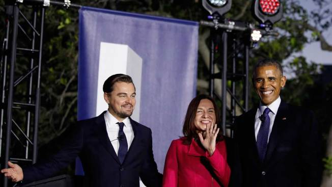 Obama, DiCaprio Team Up Against Climate Change at 'SXSL'