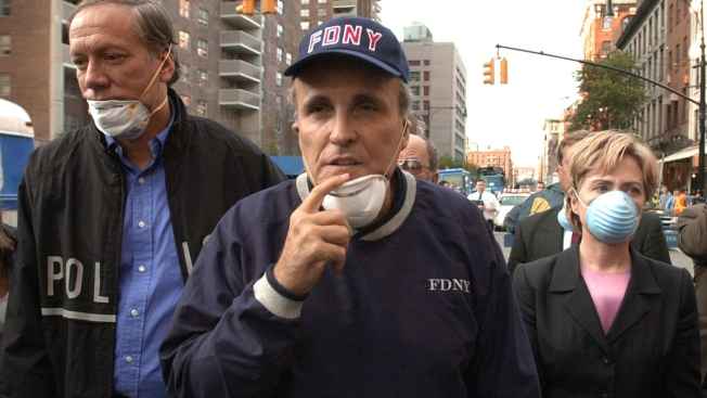 Giuliani Wrongly Accuses Clinton of Lying About 9/11