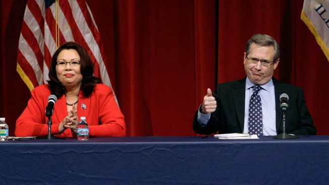 Kirk Mocks Duckworth's Asian Heritage in Debate