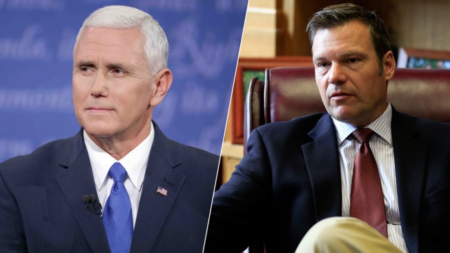 Public Voter Info for Election Fraud Panel Chairs Pence, Kobach