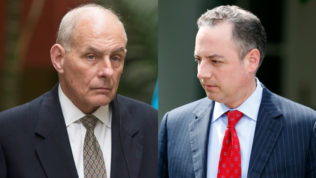 President Trump replaces Chief of Staff Priebus with General John F. Kelly