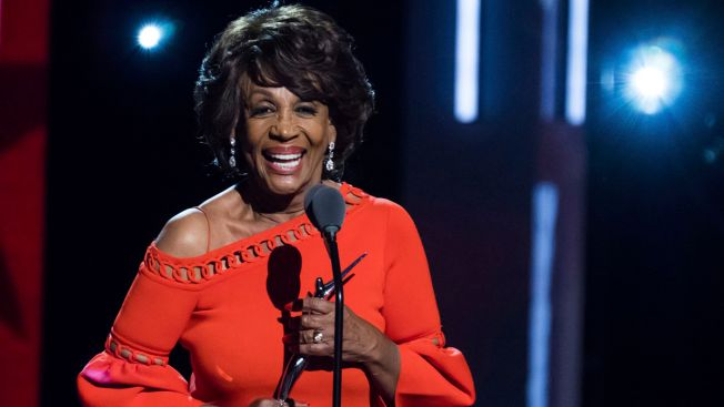 With Rock Star's Welcome, Rep. Maxine Waters Shines at Black Women's Event