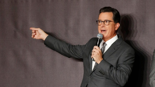 Stephen Colbert Challenges Celebs to Tweet Pubescent Pics of Themselves to Raise Money for Puerto Rico