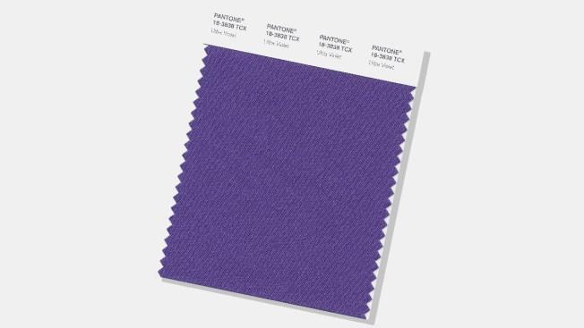 Deep Purple 'Ultra Violet' Is Pantone's Color of Year