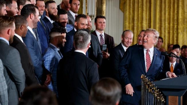 Trump Recognizes World Series Champion Houston Astros