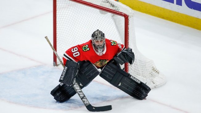 Blackhawks Emergency Goaltender Scott Foster Honored at NHL Awards ... a68a0c74c65