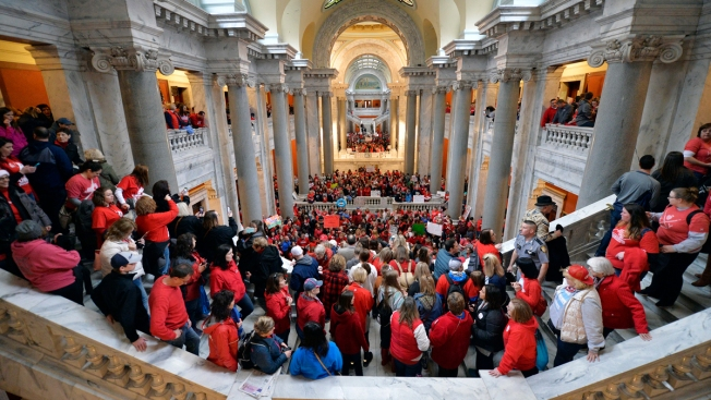 Teacher Rebellion Tests Republican Grip on Kentucky