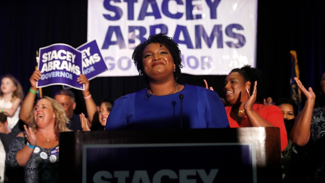 In Defeat, Abrams Casts Aside Traditional Expectations