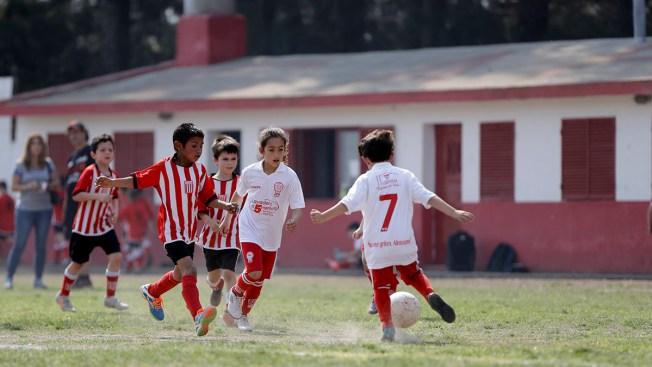 Girl Soccer Player Challenges Gender Rules in Argentina